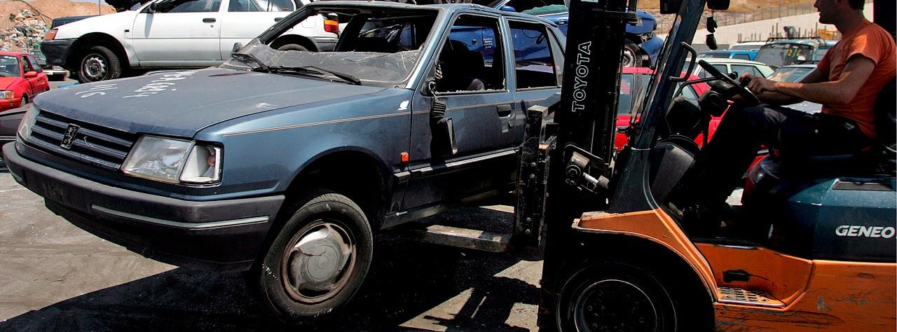 Сдать машину на металлолом в Санкт-Петербурге